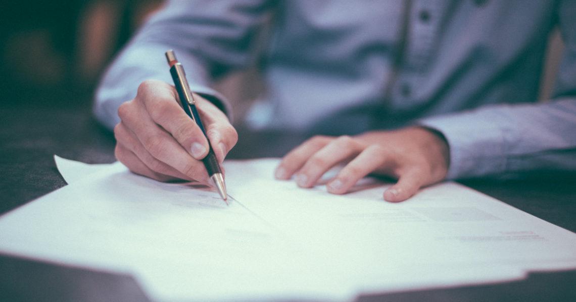 dokumenty podpis
