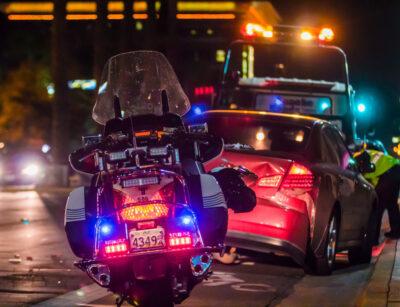 Wypadek samochodowy. Policja